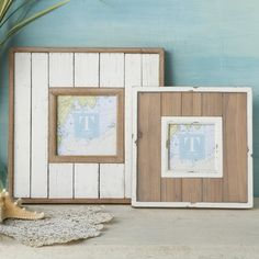 Great photo frames for that coastal look