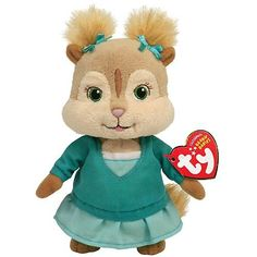 TY Beanie Eleanor - Alvin  and  the Chipmunks