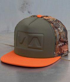 269fee91cd4 RVCA Balance Box Trucker Hat - Men s Hats in Camo