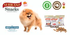 Do you know the Serrano Snacks of Mediterranean Natural ? With 70% fresh meat and high biological protein value. Gluten free and colourants free Ideal for training purposes / dogs / treats