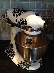 Hibiscus Flower Decal: Kitchen Mixer Vinyl Decal Set 40 Piece Set By  GoodGollyGraphics, $15.00 | Kitchen Mixer Decals | Pinterest | Kitchen Mixer,  ...