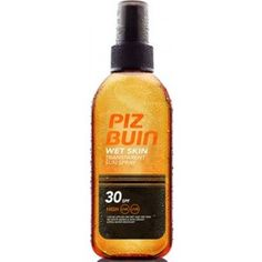 comprar WET SKIN SPRAY SOLAR TRANSPARENTE SPF 30 150ML PIZ BUIN