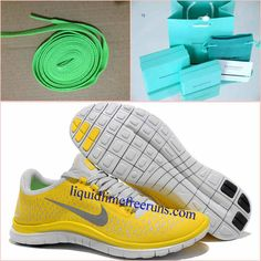 d7a6dbb5e4f1 Mens Nike Free 3.0 V4 Chrome Yellow Reflect Silver Platinum Shoes  Mens   Nike