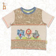 The Three Afrigos BoysT-shirt #safari #kidsclothing