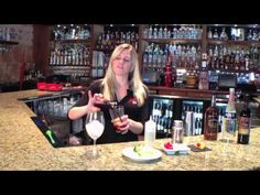 One of our star bartenders demonstrates, to us, how to make The Grille's Signature Red Sangria