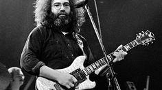 Jerry Garcia at Winterland in San Francisco, California in 1977