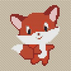 Baby fox cross stitch pattern. Fun animal pattern thats very cute. All full cross stitches so suitable for the beginner as well as the more experienced stitcher. Mini design so would look good in a hoop or in a card as a gift. Last image is on white Aida fabric. DMC 8 colours 14 count Aida fabric Stitches: 39 x 48 Size: 2.79 x 3.43 inches or 7.08 x 8.71 cm. As a rule of thumb I would recommended that an extra 3 inches of Aida fabric be added around the sides of the design to allow for…