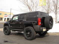 Image detail for -Hummer H3 Black On Black