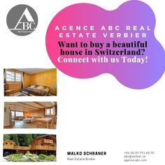 Want to buy a beautiful house in Switzerland? If you are looking to own of a beautiful property & avail the best Verbier real estate offers, contact now! Real Estate Broker, Winter Holidays, Switzerland, Beautiful Homes, House, House Of Beauty, Home, Haus, Houses