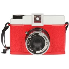 Diana+ MEG Edition - Cameras - Lomography Shop (565 BRL) ❤ liked on Polyvore featuring fillers, camera, red, accessories, electronics, quotes, scribble, saying, phrase and doodle
