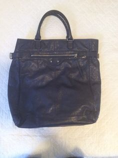 Balenciaga Motorcycle Tote dark blue Size one size - Bags & Luggage for Sale - Grailed