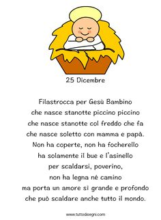 Poesia di Natale Christmas Books, 1st Christmas, Christmas Crafts For Kids, Christmas Is Coming, Christmas Cards, Xmas, Christmas Ornaments, Reggio Children, School Classroom