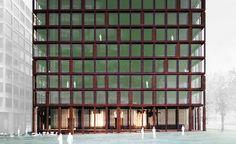 Baloise Insurance Group in Basel, Switzerland l  Valerio Olgiati architects (work in process)