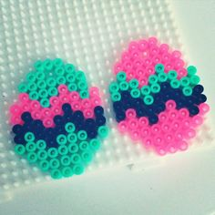 Easter eggs hama beads by rikkea