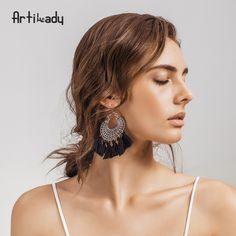 Artilady mode boho gland boucle d'oreille vintage bohême femmes bijoux cadeau de nouvel an