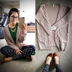 Antique rose cardigan from  bungalow123  https://bungalow123.com/products/antique-rose-cardigan