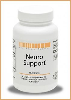 Neuro Support is an advanced nutritional supplement that combines extensively researched nutrients that work synergistically to support proper nervous system function, mood balance, memory, signal transduction, and cognitive function.