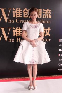 Angelababy in Chanel