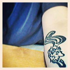 my fox tattoo