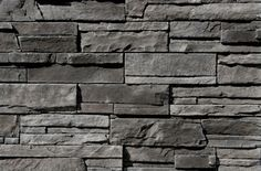 Stacked stone for front of house Shadow Ledge - Black Rundle Exterior Paint Colors, Paint Colours, Building A House, Build House, Interior Decorating, Interior Design, House Front, House Colors, Backyard Ideas