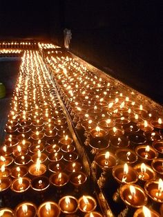 There is something special about the ritual of lighting a candle during prayer.
