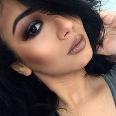 Recreate this lip look with our Precision Pencil in POUTY and Lucrative Lipgloss in LUCKY.  $15 each at www.fancylashesandlips.com