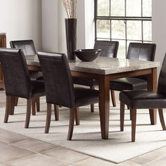 13 best granite dining table images kitchen dining dinning table rh pinterest com