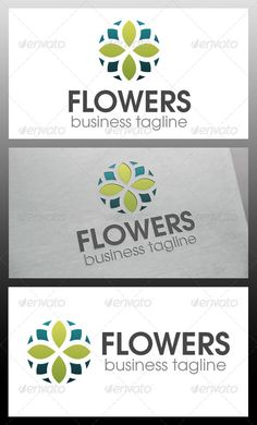 Flowers Logo Template  #GraphicRiver         - Three color version: Color, greyscale and single color.  - The logo is 100% resizable.   - You can change text and colors very easy using the named and organized layers that includes the file.   - The typography used is TeX Gyre Adventor you can download here:  .fontsquirrel /fonts/TeX-Gyre-Adventor         Created: 3October13 GraphicsFilesIncluded: VectorEPS #AIIllustrator Layered: Yes MinimumAdobeCSVersion: CS Resolution: Resizable Tags…