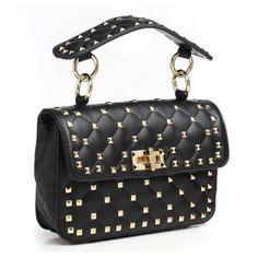 Black Bessie London Handbag Lbl037