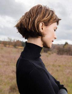 New Hair Cuts Tendence Short Haircuts Bangs Ideas Medium Hair Styles, Curly Hair Styles, Belle Hairstyle, Cut Her Hair, Haircuts With Bangs, Bob Haircuts, Trending Haircuts, Grunge Hair, Balayage Hair