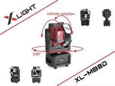 Đèn Led Mini Moving Beam 8 Dual XLight XL-MB8D