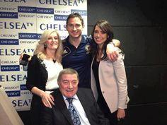 Frank Lampard y Bobby Tambling junto a sus esposas -  Dom 28 de abril 2013