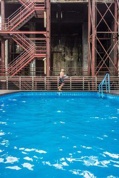 Becken 02 – Eine Hommage an die spröde Schönheit des Ruhrgebietes. Wo früher hart gearbeitet wurde, ist heute spannender Raum für Kunst und Kultur entstanden. 2013, MD | © www.piqt.de | #PIQT