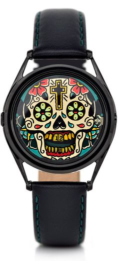 Mr. Jones Last Laugh Tattoo Mechanical Watch | Free Shipping from Watchismo