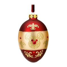 egg christmas ornament | Your WDW Store - Disney Christmas Ornament - Victorian Jewel Egg ...