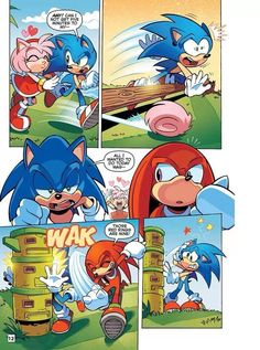 A typical day in the life of Sonic the Hedgehog
