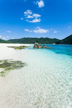Aharen beach, Kerama Islands - Japan  Meaning can also be where you go and how you feel when you are there or if you could go there..