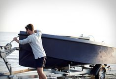 RAND boats are sleek, simplistic electric vessels for recreational use and with focus on social interaction, whether through city canals, forest lakes, or the ocean itself. Designed with simplistic, graceful lines, the Rand Picnic is built in sustain