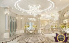 Luxury villa design in Dubai from Katrina Antonovich, Katrina Antonovich