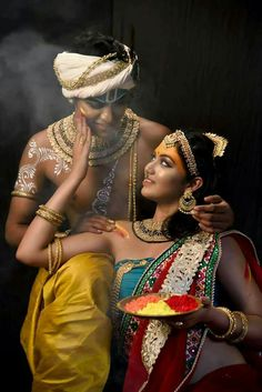 Ideas For Painting People Photography Girls Radha Krishna Photo, Krishna Art, Radhe Krishna, Krishna Painting, Lord Krishna Images, Krishna Pictures, People Photography, Girl Photography, Art Indien