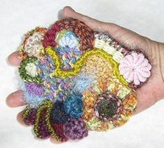 Freeform crochet tutorial...never even heard of this style, but it is a creative use of stash yarn and something tells me little girls would go GAGA over it...if done right!