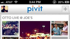 Pivit - Event-focused photo sharing for groups (iOS 6 Photo Stream)