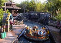Water Rides Being Avoided