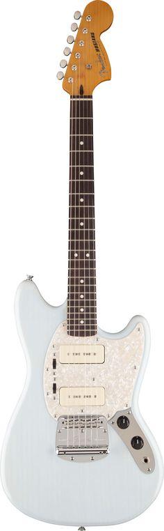 Fender Modern Player Mustang Daphne Blue