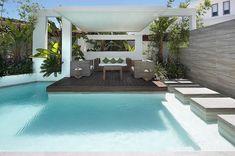 Modern House Sitting Area Interior Design: Custom Pool Area Outdoor Lounge Patio ~ olpos.com General Inspiration
