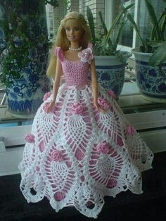 #crochettoysbarbieclothes