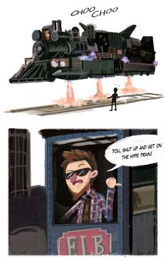 Alex Hirsch everyone.>>>>ALL ABOARD<<<ALL ABOARD THE COOKO COOKO TRAIN, ALL BOARD (COOKO COOKO)