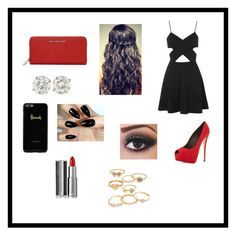 """""""Black and red"""" by lexy-coleman on Polyvore"""