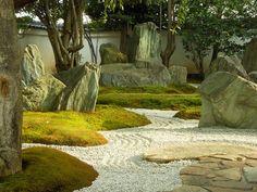 japanese teahouse entrance paving #gardendesign #landscapearchitecture #japanese