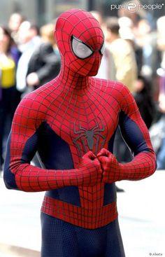 Imagen del set de rodaje de The Amazing Spider-Man 2 (2014) en Rochester, Nueva York